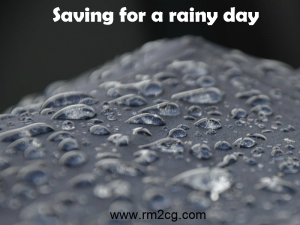 Are you saving for a rainy day?